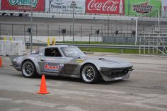 A big congrats to Josh Leisinger who won the Goodguys Rod & Custom Association autocross Pro class at Ft. Worth, TX, this past weekend, in his RideTech-equipped C2 on a borrowed set of Forgeline GA3 wheels.  #Forgeline #GA3 #notjustanotherprettywheel #madeinUSA #Chevy #Corvette #C2