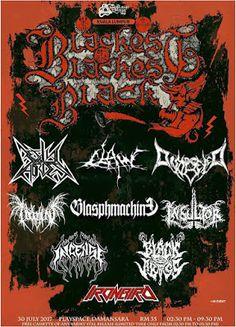 Long Live The Loud 666: BLACKEST O BLACKEST BLACK FESTIVAL 30 JULY 2017