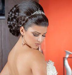 arabic bridal hairstyles | Latest Lebanese Hairstyles for 2012 | Arab Girls, Arabic Girls Blog