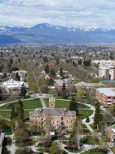 missoula, Montana   I lived here for 6 wonderful years.  Took some classes on campus.