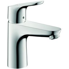 Hansgrohe Focus 100 Basin Mixer ❤ liked on Polyvore featuring home and kitchen & dining