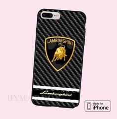 Best-Lamborghini-Black-Viber-Automotive-Logo-Hard-Plastic-CASE-COVER-iPhone-7-7