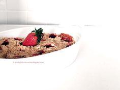 Arabafelice in cucina!: Crumble di fragole e mandorle