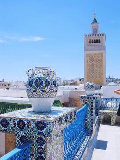 Tunisia ! Zaytouna Mosquée