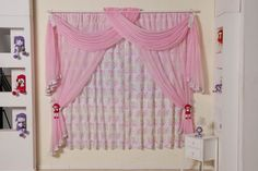 cortina quarto de menina infantil - Pesquisa Google