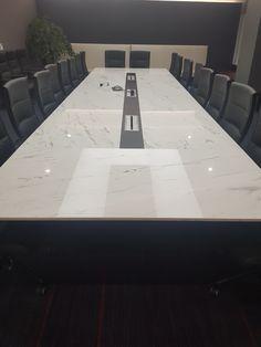 주문제작 대형 테이블 대리석 : 알렉산더화이트 프레임 : 블랙색상 사이즈 : 주문제작 Conference Table, Marble, Dining Table, Interior, Furniture, Home Decor, Decoration Home, Indoor, Room Decor