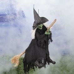 Halloween Witch Prefers Riding Hitachi over Broom
