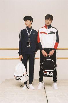 the boyz for fila Dazed Magazine, Hyun Jae, Fandom, Real Man, My Boys, Photoshoot, Film Posters, Kpop Groups, Daydream