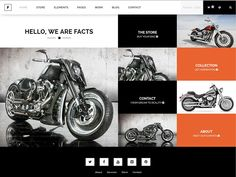 FACTS, Minimalist & Flexible Corporate, Creative, Photography WP theme.  FACTS is a minimalist, complete and flexible WP theme that brings you unlimited options to set up a Corporate, Creative or Photography business. Make use of Facts exquisite and unique Sequence and Boxed image features. $ 58 #themeforest #wordpress