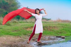 Image may contain: 1 person, standing, outdoor and nature Wedding Couple Photos, Wedding Couples, Beautiful Girl Indian, Beautiful Saree, Pakistani Dresses Party, Miss Independent, Churidar, Fashion Photography, Photography Styles