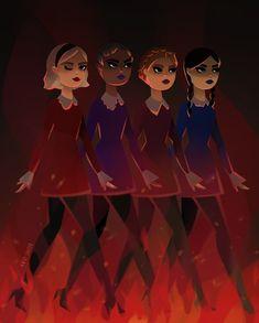 - Sabrina & the Weird Sisters - Wallpaper Mundo, Helloween Wallpaper, Magia Elemental, Weird Sisters, Teen Witch, Kiernan Shipka, Sabrina Spellman, Dibujos Cute, Witch Art