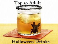 Top 10 Adult Halloween Drinks and Snacks