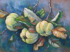 Kerstin Birk Kunst Pflanzen: Früchte Zeiten: Herbst Neuzeit Realismus