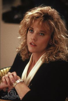Meg Ryan from When Harry Met Sally