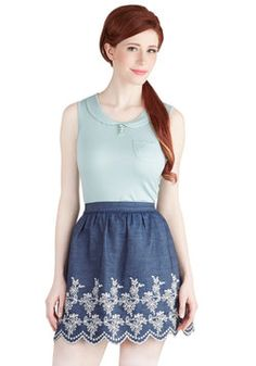 Quiche Swap Skirt, #ModCloth