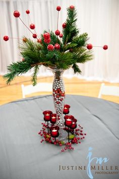 winter centerpiece-along with Xmas tree possibly?