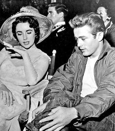 With James Dean!