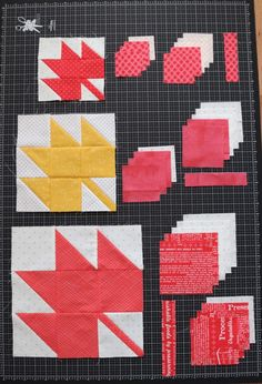 Inspirational techniques that we have a passion for! Quilt Square Patterns, Quilt Patterns Free, Pattern Blocks, Square Quilt, Fall Patterns, Star Patterns, Embroidery Patterns, Farm Quilt, Lap Quilts