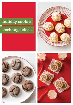 The Holiday Cookie Exchange – Click here for 10 Christmas cookie recipes that are sure to make this season a little merrier. There are lots of ways to make the holidays magical—and Christmas cookies are one of the sweetest!