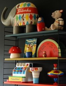 Childrens Room with Toys - Kid and baby proof accessories for the home. Great coffee table toppers.
