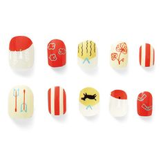 - Best ideas for decoration and makeup - Asian Nail Art, Asian Nails, New Years Nail Art, Cute Nail Art Designs, New Year's Nails, Minimalist Nails, Dipped Nails, Autumn Nails, Flower Nails