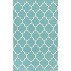 Artistic Weavers Vogue Teal Geometric Claire Area Rug & Reviews | Wayfair