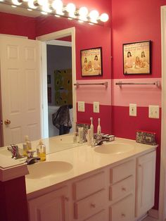 Girls bathroom bathroom stuff pinterest girl for Bathroom models photos