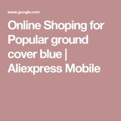 Online Shoping for Popular ground cover blue | Aliexpress Mobile