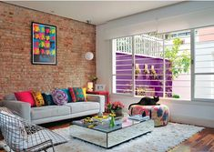 Colorful Living Room Interior Decor Ideas