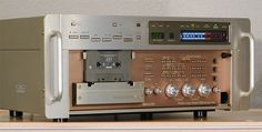 Phase Linear 7000 series 2 three head tape deck based on Pioneer CT-A1 which was not available in US.