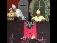 (Catholicism/Satanism) The bottom picture is of the satanic church.