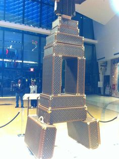 Louis Vuitton tower in ARIA Las Vegas.