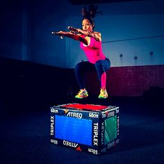 ATREQ Triplex 3 in 1 Soft Plyo Box - Textured non slip surface - #crossfit #ATREQ #boxjumps