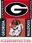 Georgia Bulldogs 3x5 Double Sided Flag - 1 left
