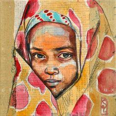 Stephanie Ledoux, Une image réalisée cet été, d'une petite Ethiopienne