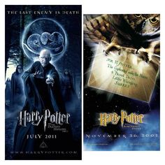 Fun Harry Potter fact: Harry Potter and the Sorcerer's Stone was released November 2001...9 3/4 years later...Harry Potter and the Deathly Hallows part 2 was released in July 2011