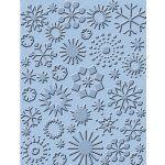 Cuttlebug A2 Embossing Folder - Snowflakes