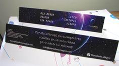 Cajas para hacer la constelaciones circumpolares.