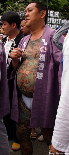 japanese yakuza | However, for those not embarrassed about their bulging bellies, and at ...