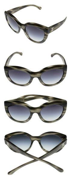 7027b7a44479a Chanel Sunglasses Womens Cat Eye Grey CH5331 1536 S6