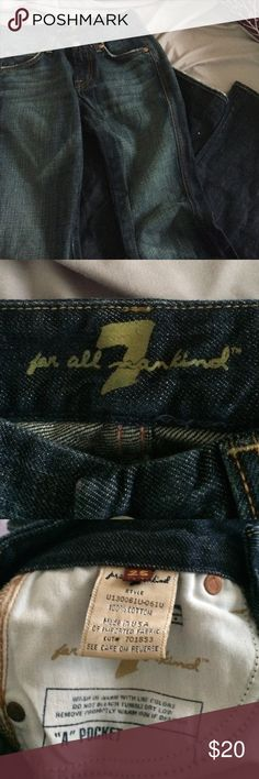 7 for all mankind jeans Size 25 flare jeans 7 For All Mankind Jeans Flare & Wide Leg