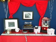 Theatre themed retirement party. H&H