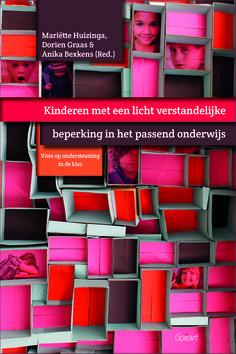 """Boekencover """"Kinderen met een licht verstandelijke beperking in het passend onderwijs"""" - designed by Koloriet, Danni Elskens"""