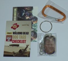 THE WALKING DEAD ~ Update (FOIL) Dog Tag ~ Zombie 'Walker' no.24 ** Instant discounts available  : 99 cent Pet Supplies