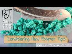 Conditioning Hard Polymer Clay Tip #3 - Food Processor - YouTube