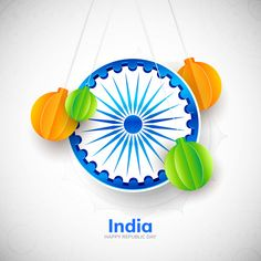 Ashoka Chakra, Indian Flag Images, India Poster, Indian Independence Day, Republic Day, Daughter Quotes, Free Design, Minimalism, Vector Free