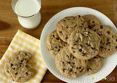 ambrosia: Best Chocolate Chip Cookies