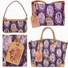 The Disney Design Group has been hard at work on new Dooney & Bourke patterns.