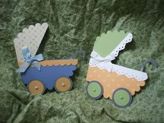 Photo Tutorial: Baby Carriage Card