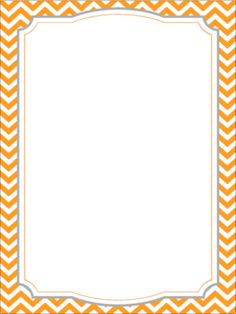 Chevron Borders From Learning Corner On TeachersNotebook.com   (6 Pages)    Colorful Borders